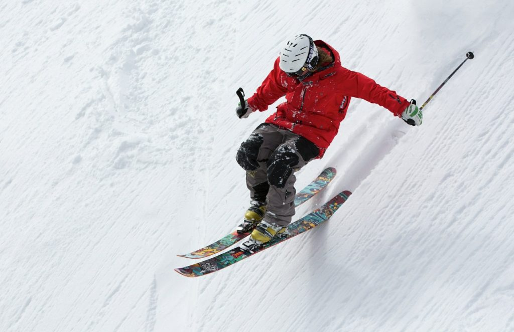 Freerider Skiing Ski Sports Alpine Snow Winter
